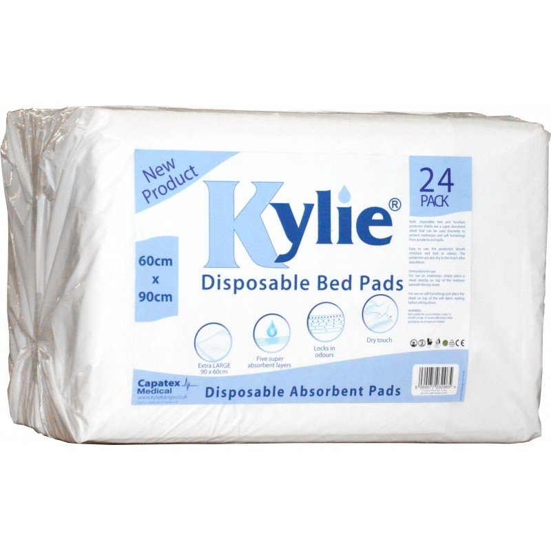 Kylie 174 Disposable Bed Pads Coastal Linen Supplies