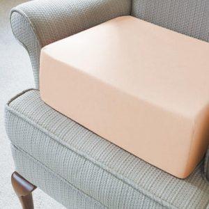memory foam seat raiser in chair