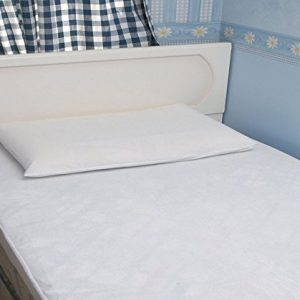 knightsbridge mattress protector set on bed