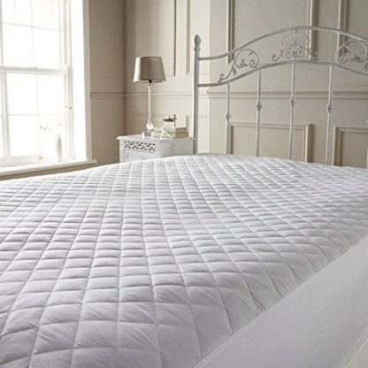 microfibre mattress protector on bed